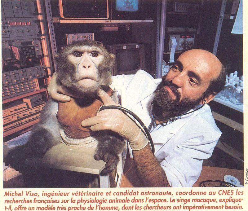 Octobre 1985 - Les nouveaux astronautes français 93070010