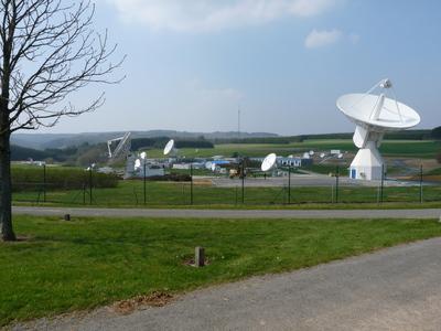 La station ESA de Redu en Belgique Esared10