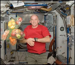 La cuisine à bord de la Station Spatiale Internationale Iss02210