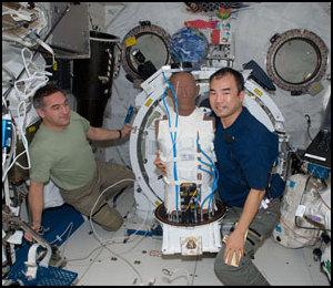Rayonnement spatial - L'expérience Matroshka-R Iss02324