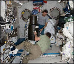Rayonnement spatial - L'expérience Matroshka-R Iss02325