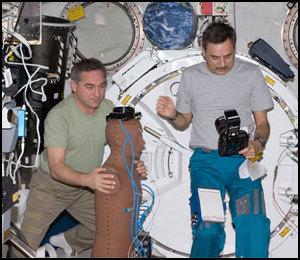 Rayonnement spatial - L'expérience Matroshka-R Iss02326