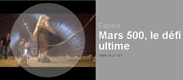 Mars 500 : six voyageurs immobiles vers la Planète rouge Mars5011