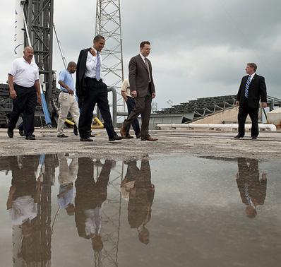 falcon 9 - Lancement Falcon 9 (04/06/2010) - Page 6 Obama10