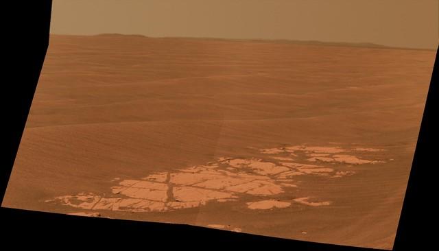 Opportunity va explorer le cratère Endeavour - Page 6 Opport10
