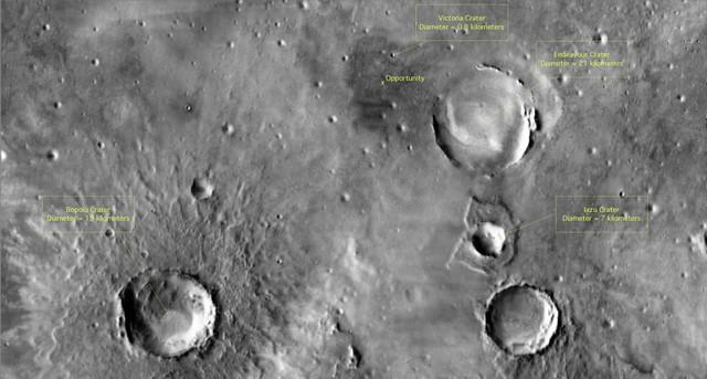 Opportunity va explorer le cratère Endeavour - Page 6 Opport11