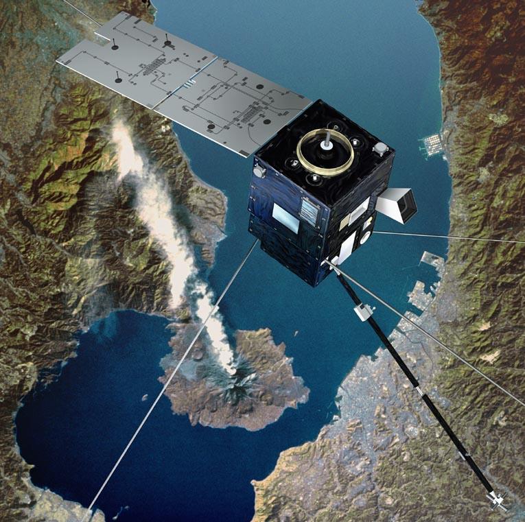 Satellites de prévention des risques sismiques P2513_10