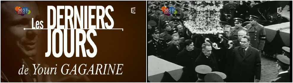 """Télévision : """"Mort de Youri Gagarine"""" sur F5 Planch11"""