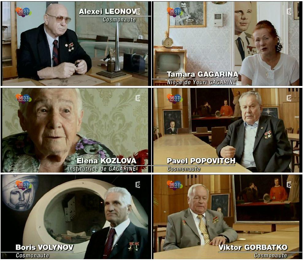 """Télévision : """"Mort de Youri Gagarine"""" sur F5 Planch12"""