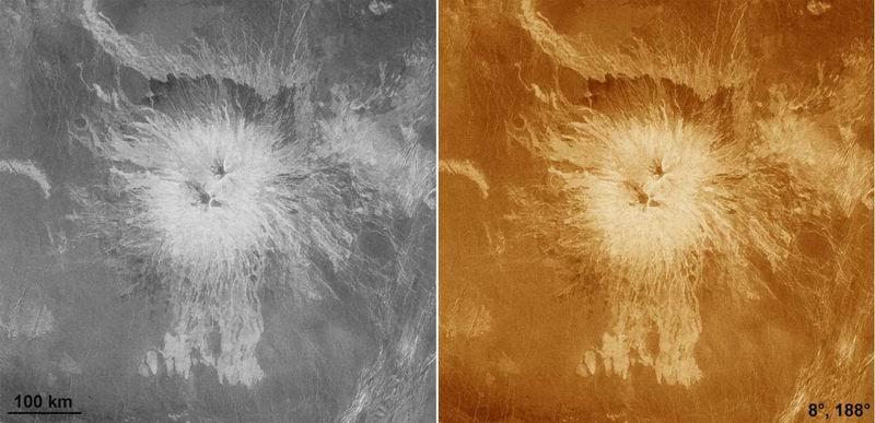 Du volcanisme actif, ou très récent, sur Vénus ? Redim106