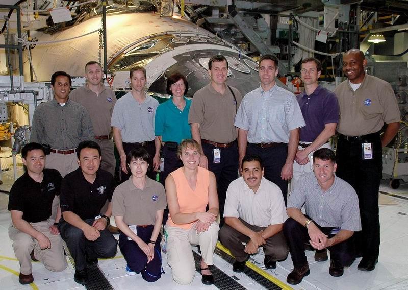 Futurs équipages de l'ISS Redime43