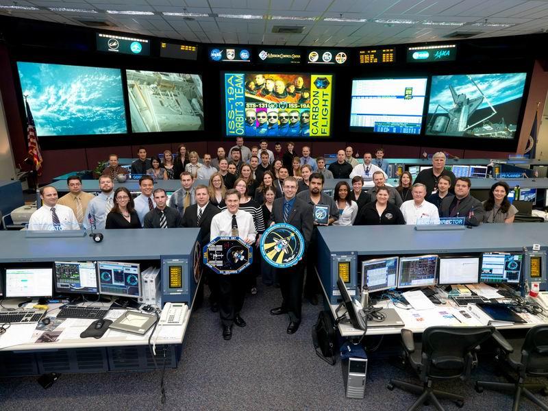 Salle de contrôle de vol d'ISS Redime94