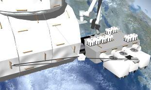 ISS : Robot d'assistance aux astronautes Rex-op10
