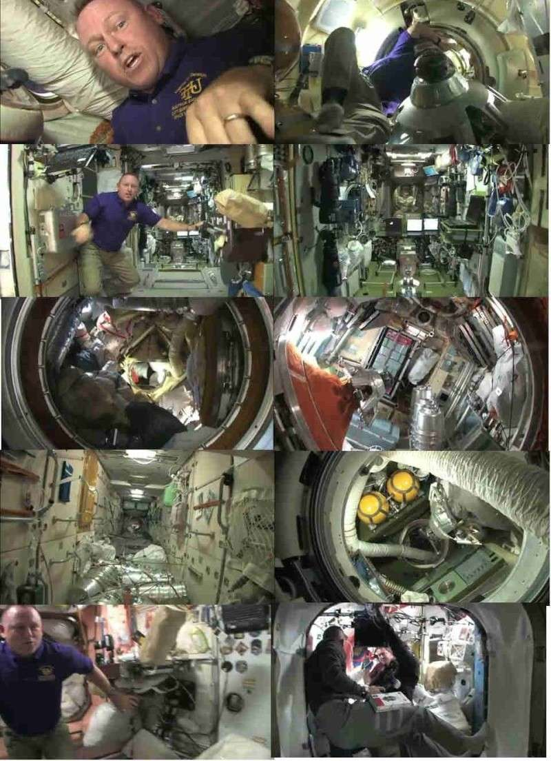 Vidéo : visite de la station spatiale - Page 2 Sts-1210