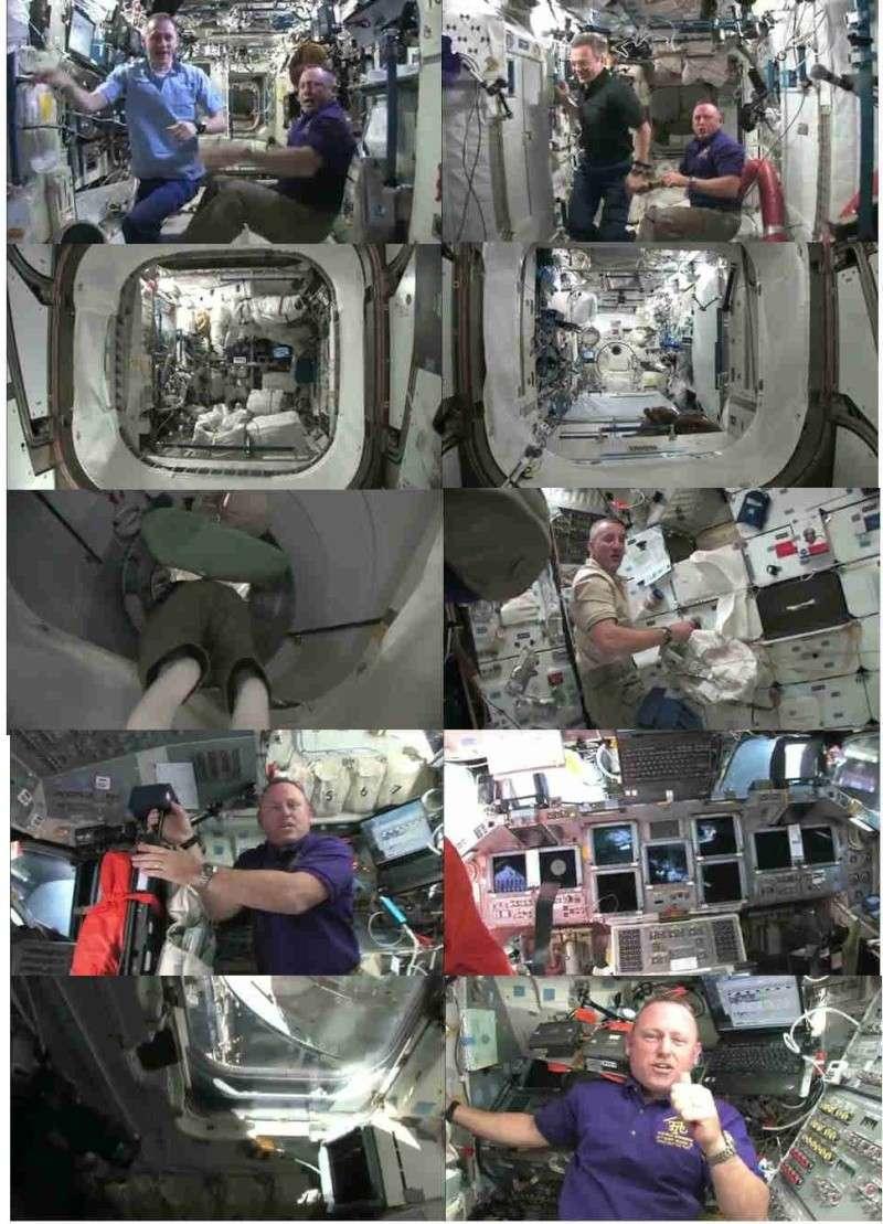 Vidéo : visite de la station spatiale - Page 2 Sts-1211