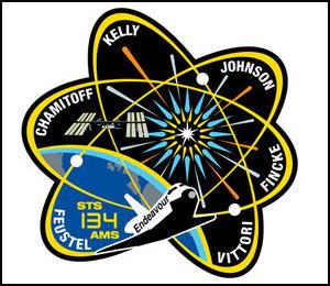 [STS-134] Endeavour : Le Patch Sts13410