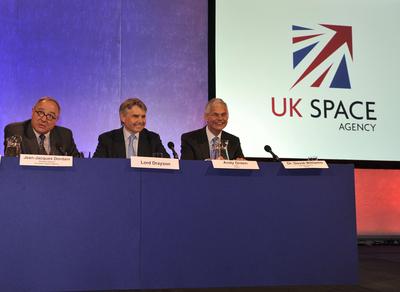 Création de l'agence spatiale britannique Ukspac10