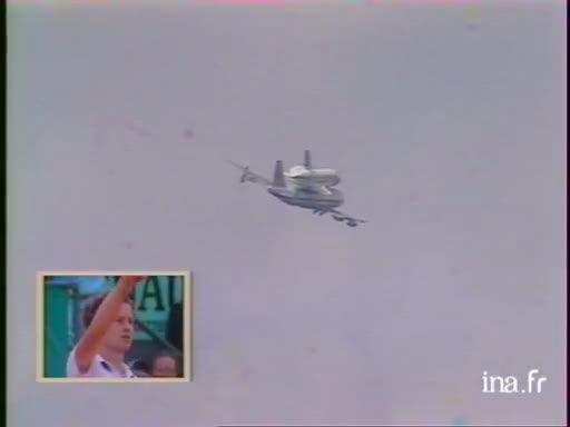 Navette spatiale au dessus du stade Roland Garros - 28 mai 1983 Vlcsn307
