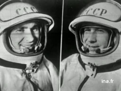 18 mars 1965, l'EVA de Leonov Vlcsn345