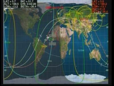 ISS : Amarrage de Soyouz TMA-18 le 4 avril 2010 Vlcsn414