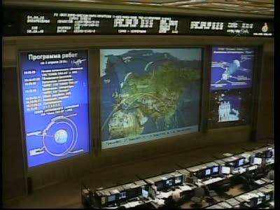 ISS : Amarrage de Soyouz TMA-18 le 4 avril 2010 Vlcsn415