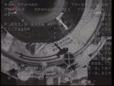 ISS : Amarrage de Soyouz TMA-18 le 4 avril 2010 Vlcsn435