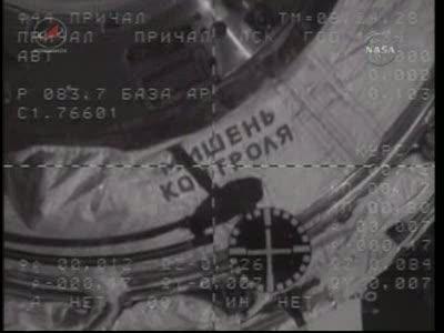ISS : Amarrage de Soyouz TMA-18 le 4 avril 2010 Vlcsn439