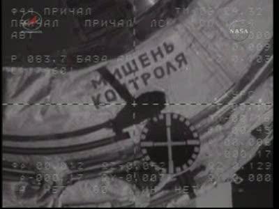 ISS : Amarrage de Soyouz TMA-18 le 4 avril 2010 Vlcsn440