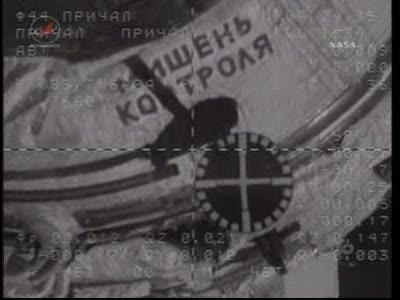 ISS : Amarrage de Soyouz TMA-18 le 4 avril 2010 Vlcsn441