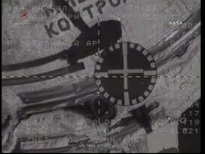 ISS : Amarrage de Soyouz TMA-18 le 4 avril 2010 Vlcsn443