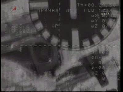 ISS : Amarrage de Soyouz TMA-18 le 4 avril 2010 Vlcsn446