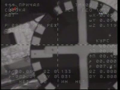 ISS : Amarrage de Soyouz TMA-18 le 4 avril 2010 Vlcsn448