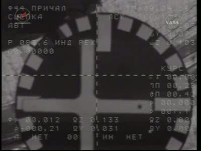 ISS : Amarrage de Soyouz TMA-18 le 4 avril 2010 Vlcsn449