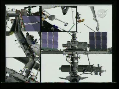 [STS-131 / ISS19A] Discovery : EVA 2 Anderson & Mastracchio Vlcsn536