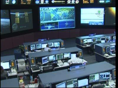 Salle de contrôle de vol d'ISS Vlcsn586
