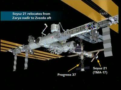 [Expédition 23] Transfert de Soyouz TMA-17 de Zaria à Zvezda Vlcsn654