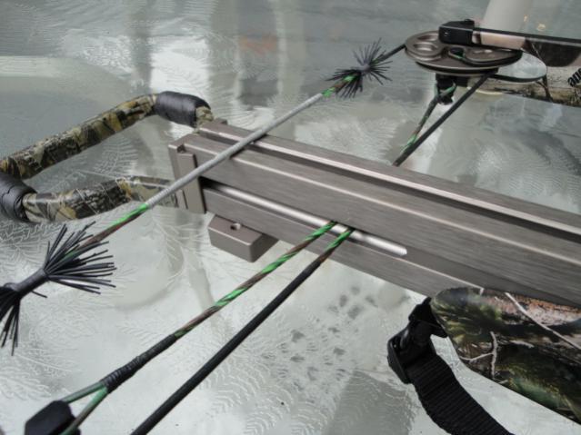 "Reverse limb ""Test"" crossbow V_175_10"