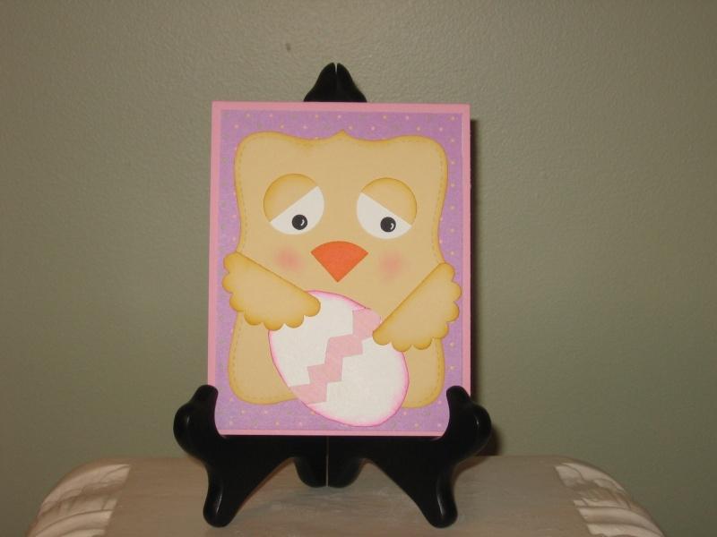 Carte pour Pâques - poussin mignon Easter10