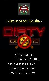 Clan which is CBL Dirty Immort11