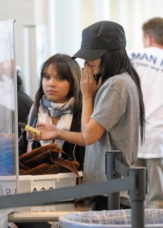 Vanessa Hudgens at LAX 112