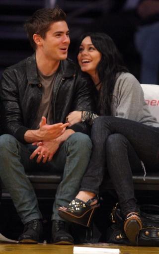 Zac Efron and Vanessa Hudgens: Lakers Lovers 337