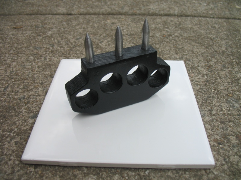 Steel Spiked Knuckle Duster Img_0225