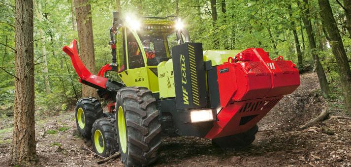 prix de l innovation  forestiere au wf-trac Werner13