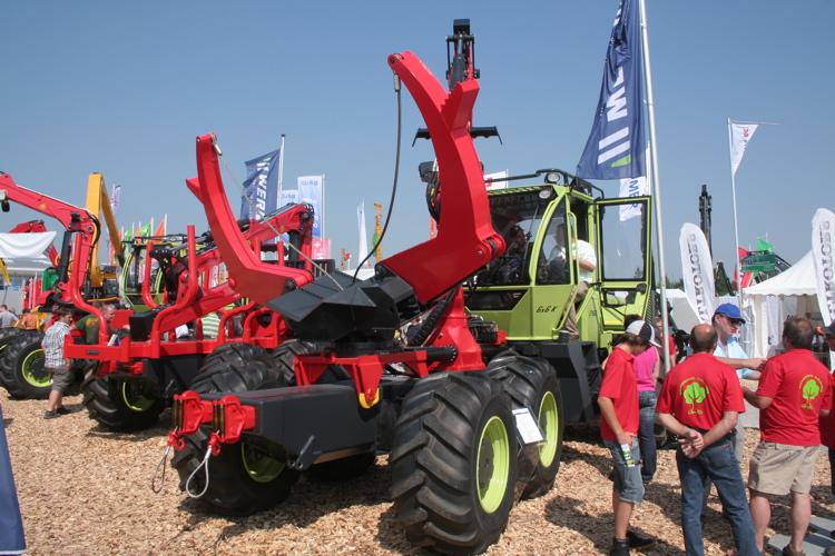 prix de l innovation  forestiere au wf-trac Werner15