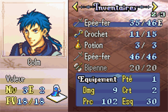 [GBA] Fire Emblem - The Sacred Stones Screen17
