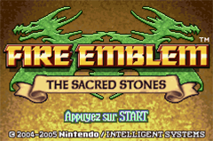 [GBA] Fire Emblem - The Sacred Stones Title14