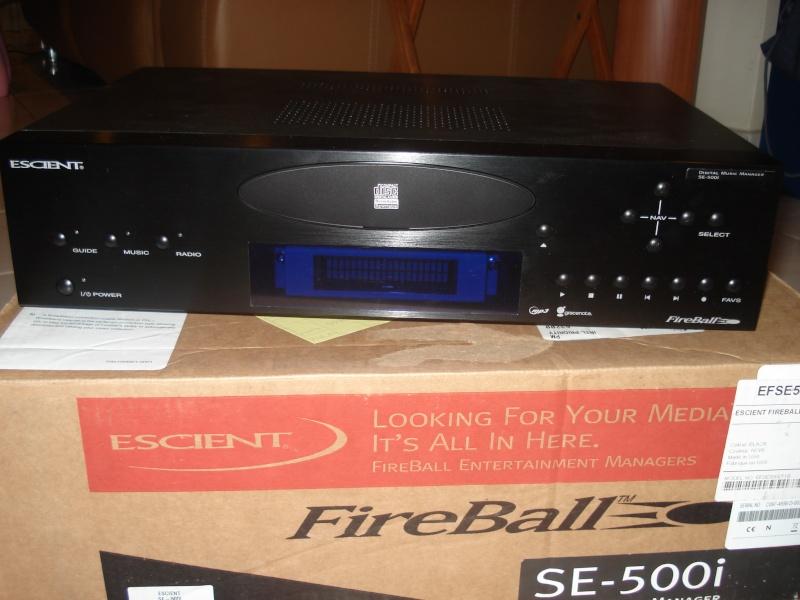 Escient Fireball SE-500i 500GB Network Music Server  Escien10