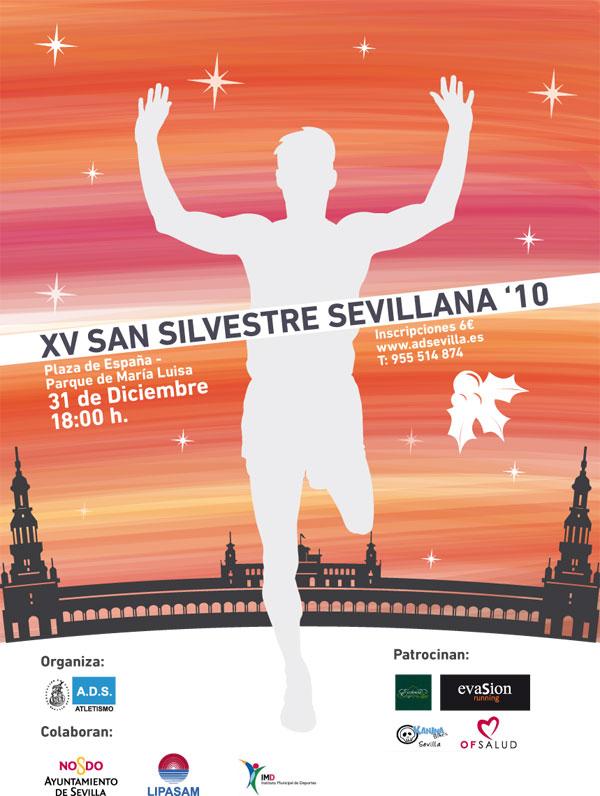San Silvestre Sevillana. Cartel12