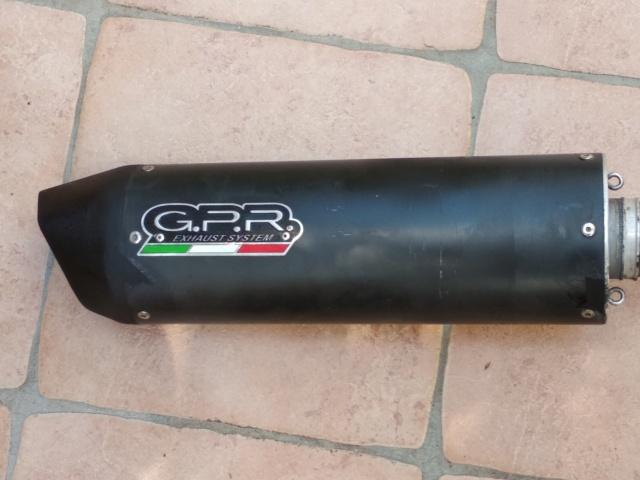 Vends échappement GPR furore noir complet pour TRK 502 Img_2015