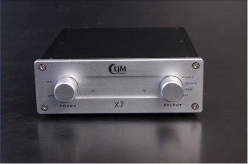 WM8740+CS8416 24bit 192kHZ X7 DAC Dac10